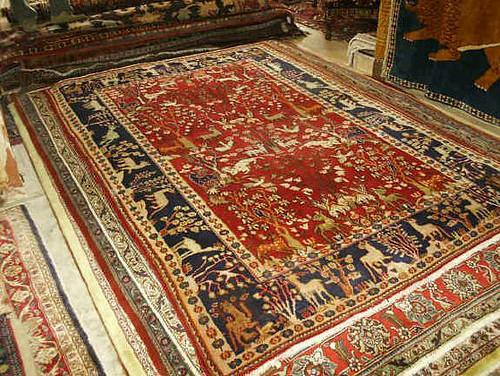 Tabriz Tree Of Life 7x11 Persian Rug Tabriz Persian