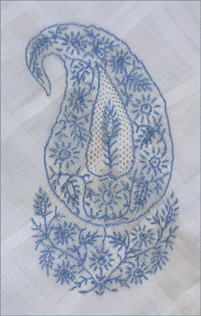 Chikan Embroidery Motifs | Makaroka.com