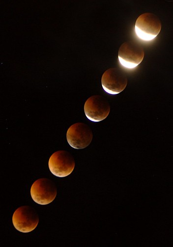 June 2011 Total Lunar Eclipse - Final Stages | by Tim Bates