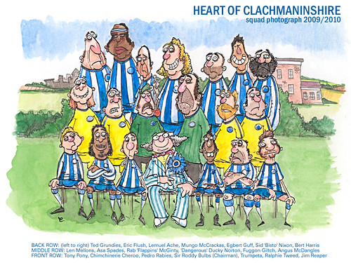 Heart Of Clackmannannshire 2009/10 Team Photo | by twohundredpercent