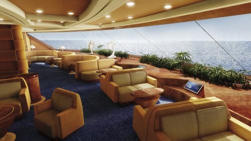 msc fantasia   top sail lounge msc fantasia private
