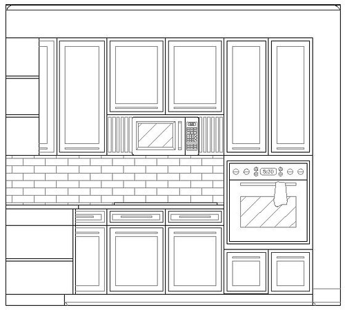 Level Three Kitchen Elevation II