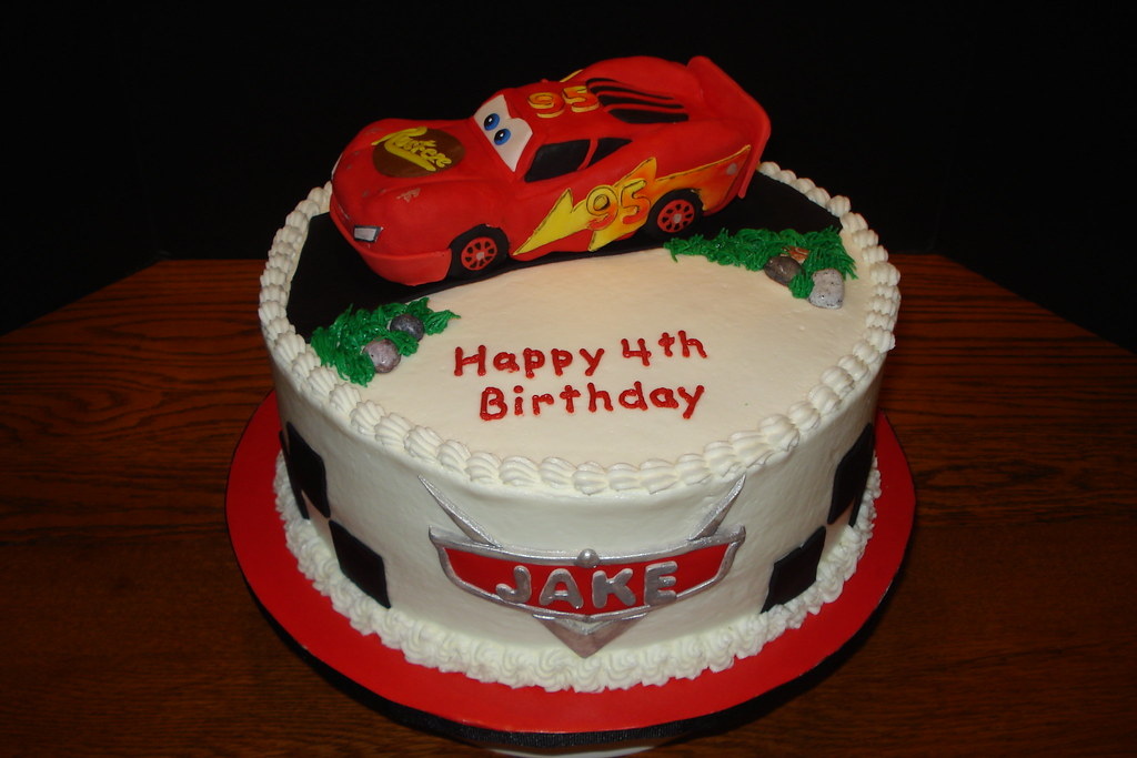 Lightning Mcqueen Cake Decorations