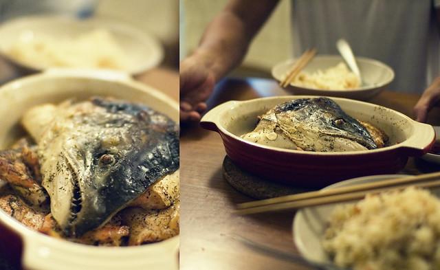 Salmon Fish Head