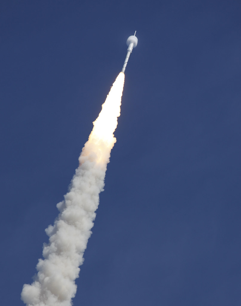 Ares I X Rocket Launch Bow Shock Nasa 10 28 09 Explor