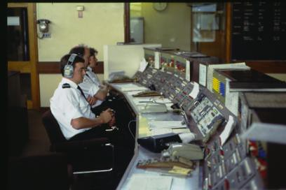 West Yorkshire Fire Service Control Room
