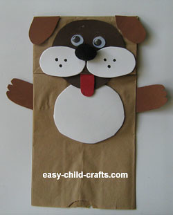 Free Crafts Of Dog Puppet