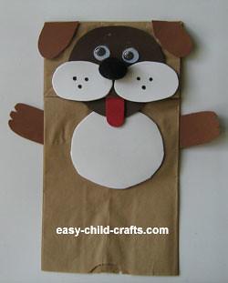 Dog Puppet Craft For Preschoolers