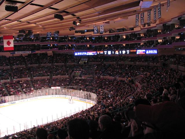Pittsburgh Penguins V New York Rangers Madison Square