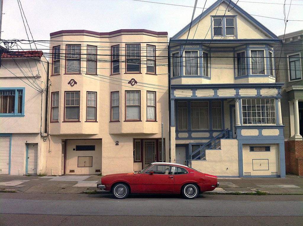 Richmond district San Francisco Ford Maverick