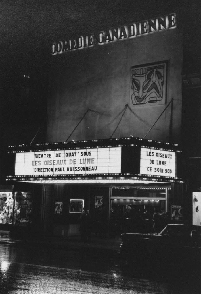 La pièce Les oiseaux de lune à la Comédie canadienne, 7 mai 1958 VM105Y-0002