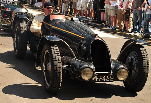 Goodwoood Festival of speed 09. Bugatti type 59/57. 1936 | by dennisgoodwin