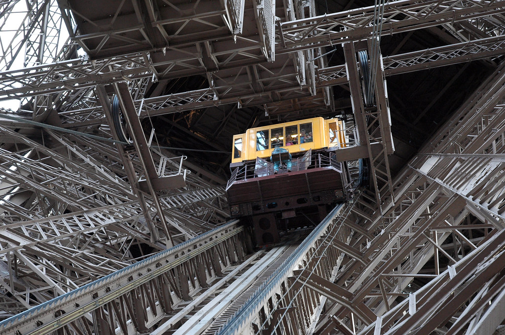 Eiffel Tower Tram | Tram to the observation deck of the