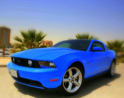Ford Mustang GT 2010 Grabber Blue   Ahmad Fatayerji   Flickr