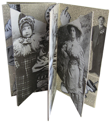 Interlocked Double Accordion Book | by vintagepix