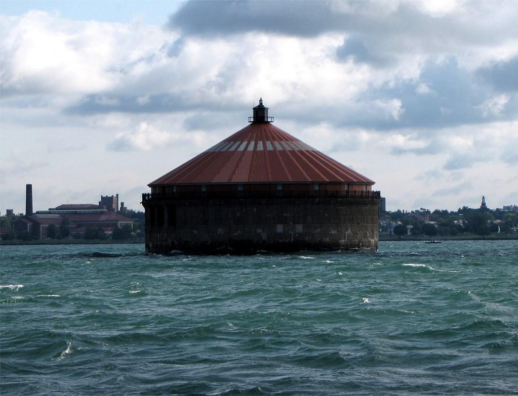 Buffalo Intake Crib Lighthouse Buffalo New York Ny