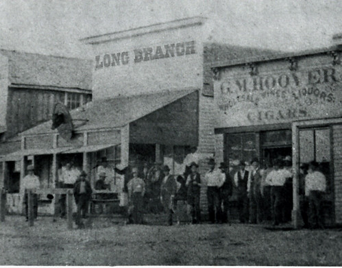 long branch saloon   dodge citys population  les flickr