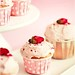 Lychee Rose Cupcakes
