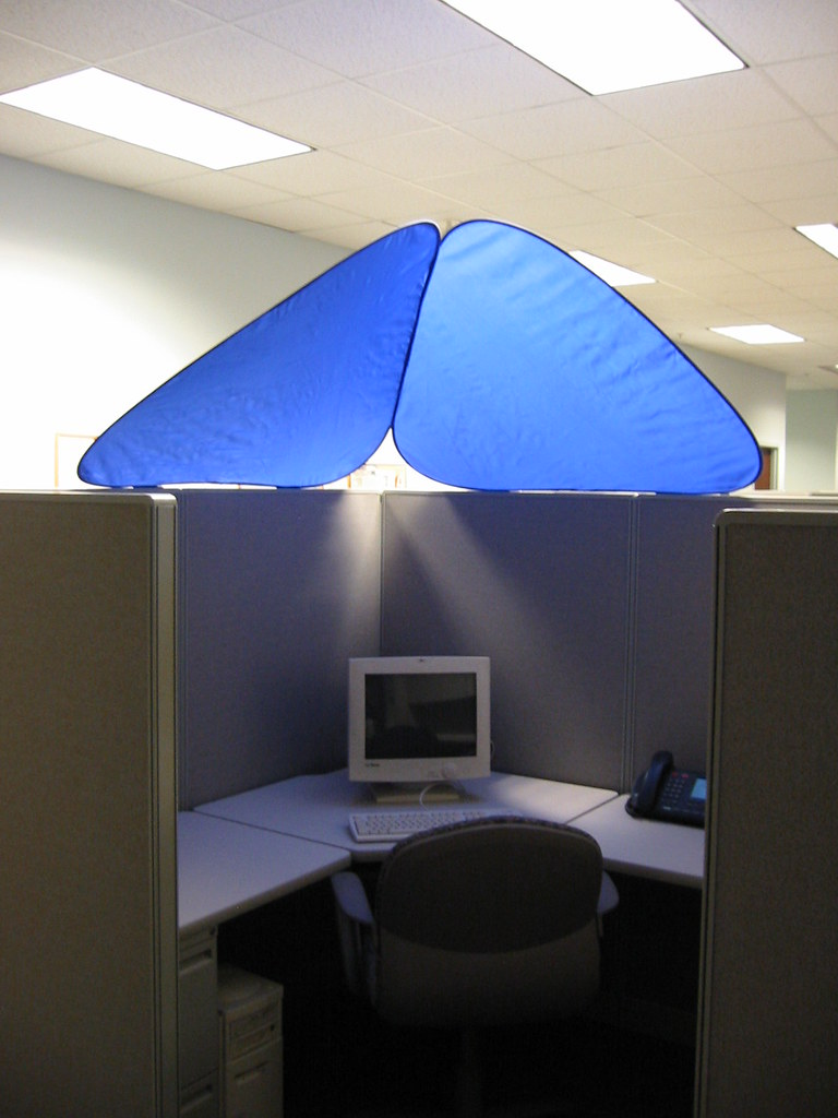Cubeshield Cubicle Roof Cubeshield Blocks Out