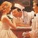 1957...After the Prom - by Norman Rockwell [detail]