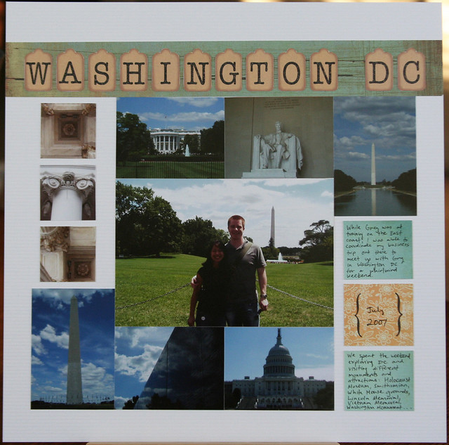 Washington, DC Layout | shirley shirley bo birley Blog