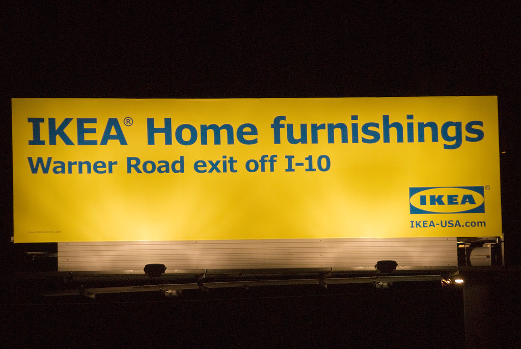 ikea tempe billboard santan freeway loop 202 westbound