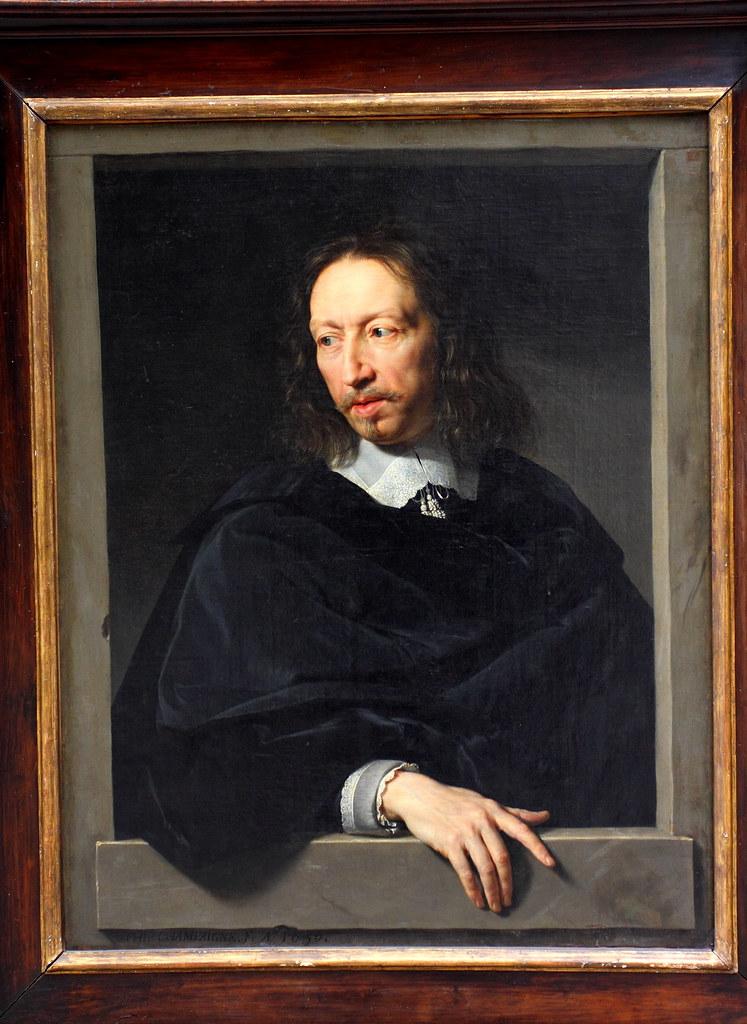 Philippe De Champaigne Portrait D Homme Dit Autrefois Ro