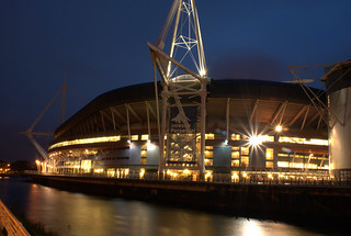 Twilight over Millennium Stadium 2 | by Neil Page