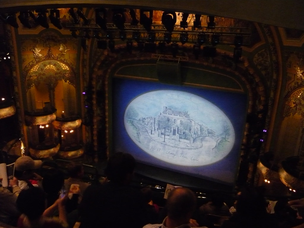 New York City New Amsterdam Theatre Mary Poppins