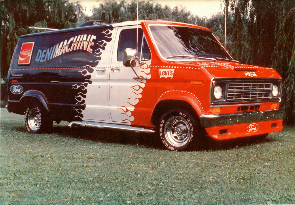 Coca-Cola,Levi's,Ford Van | David Rider | Flickr
