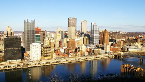 Pittsburgh Pa From Mt Washington My First Visit To