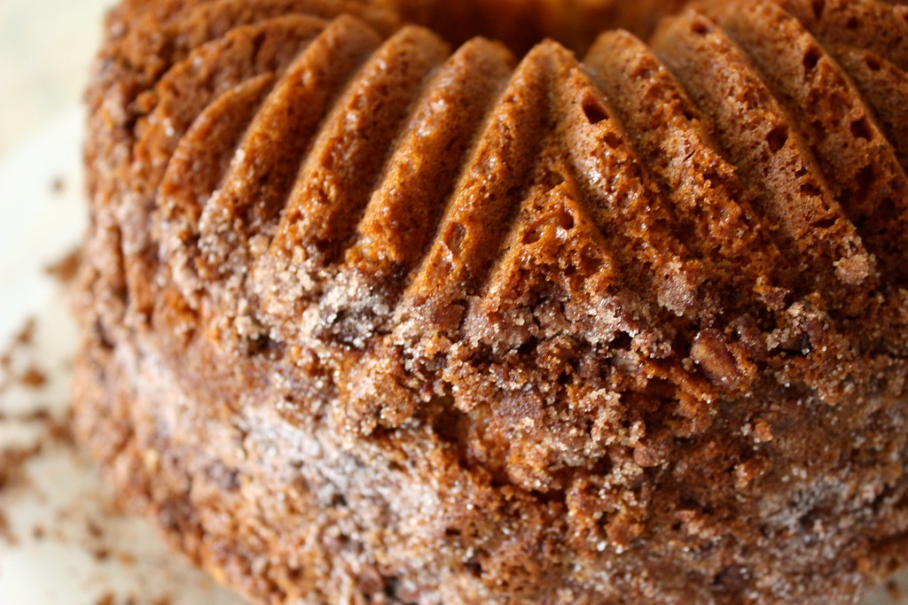 Bundt Coffee Cake Made With Yellow Cake Mix