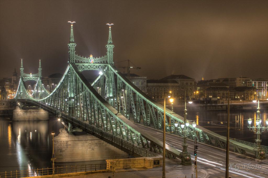 Szabadság híd / Liberty bridge - Budapest ( Hungary ) | Flickr