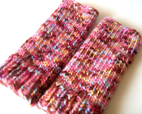 finished wrist warmers | by milly and tilly