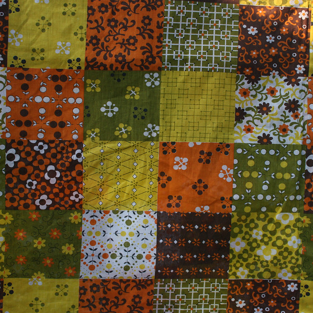 For Sale >> 1970's Patchwork Vintage Fabric | For sale in my eBay shop t… | Flickr