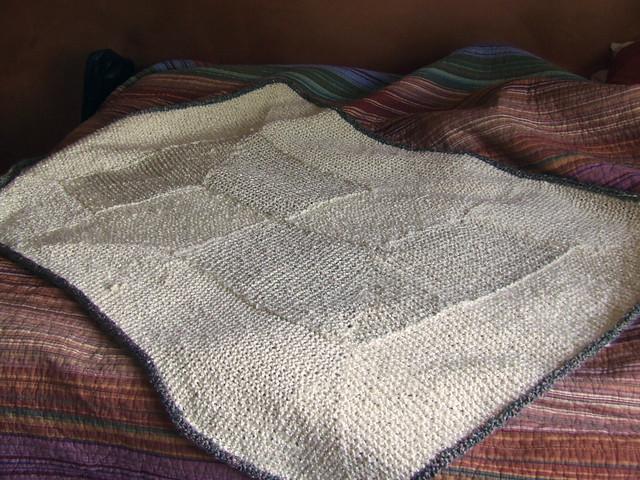 Garter Stitch Blanket The pattern is from Elizabeth Zimmer? Flickr