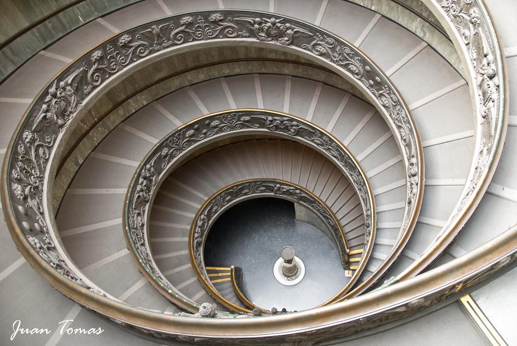 Rampa Espiral Vatican Museum Spiral Ramp Espectacular