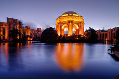 Twilight San Francisco Palace of Fine Arts | by Oldvidhead