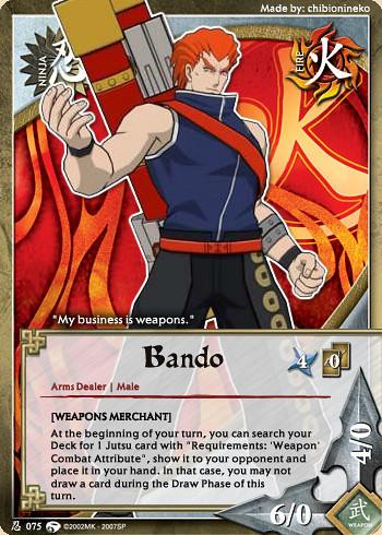 Bando | Naruto Dream Card | chibionineko | Flickr