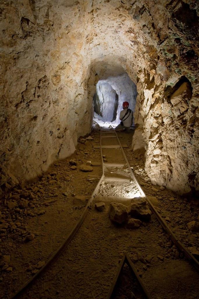 underground railroad  tunnels  rusty tracks
