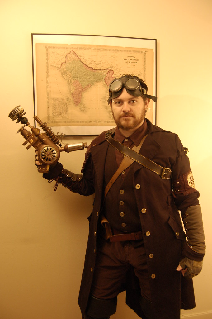Steampunk Costume: Airship Captain | Josh & Karen ...