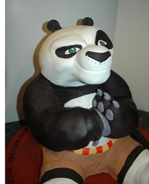 D Kung Fu Panda Cake