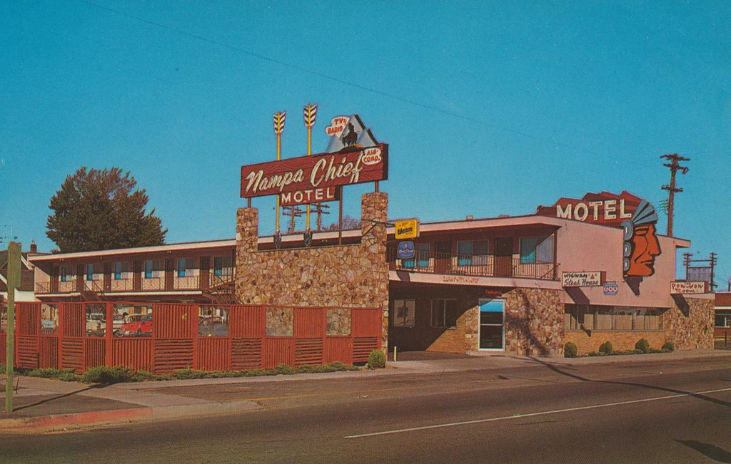 Nampa Chief Motel Nampa Idaho 2 Blocks From Downtown