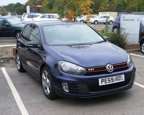 VW Golf GTI VI (6) 2009 mk6 TSI 2 litre 5-door 09-10-09 DSCF2960 | by ...