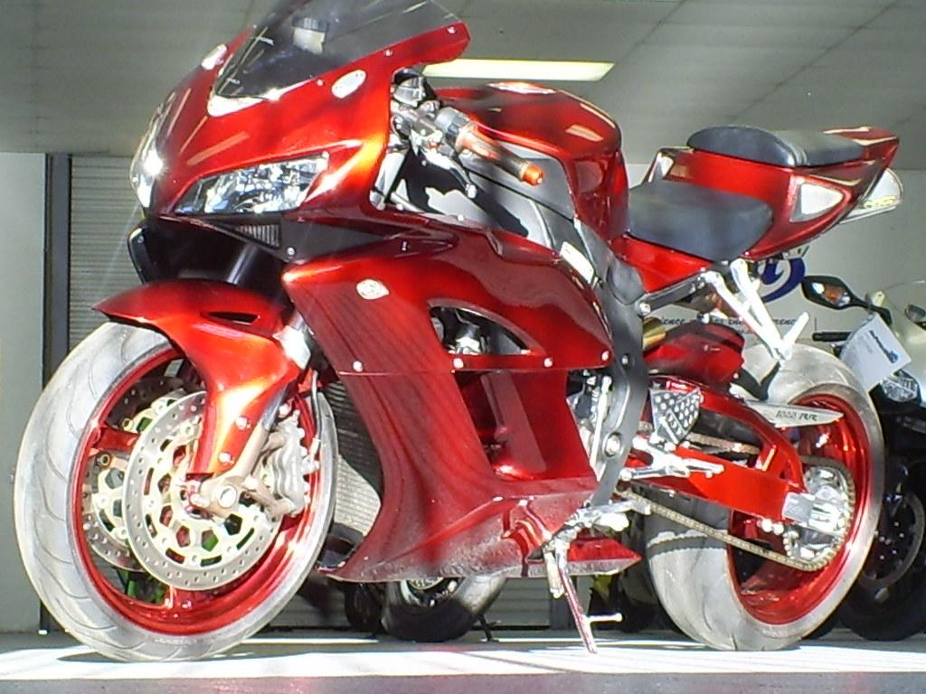 2005 Honda CBR1000RR Custom Red 3-5-2009 $inCity X-Treme P