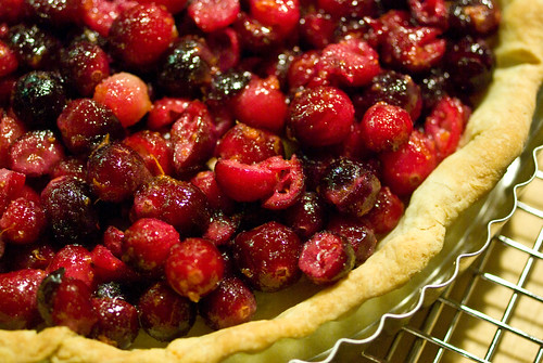 cranberry crumble tart | by Jessamyn Tuttle