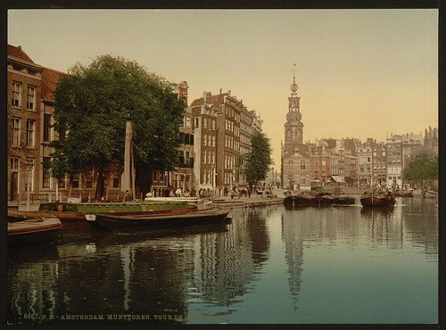 [Mint tower, Amsterdam, Holland] (LOC) | by The Library of Congress