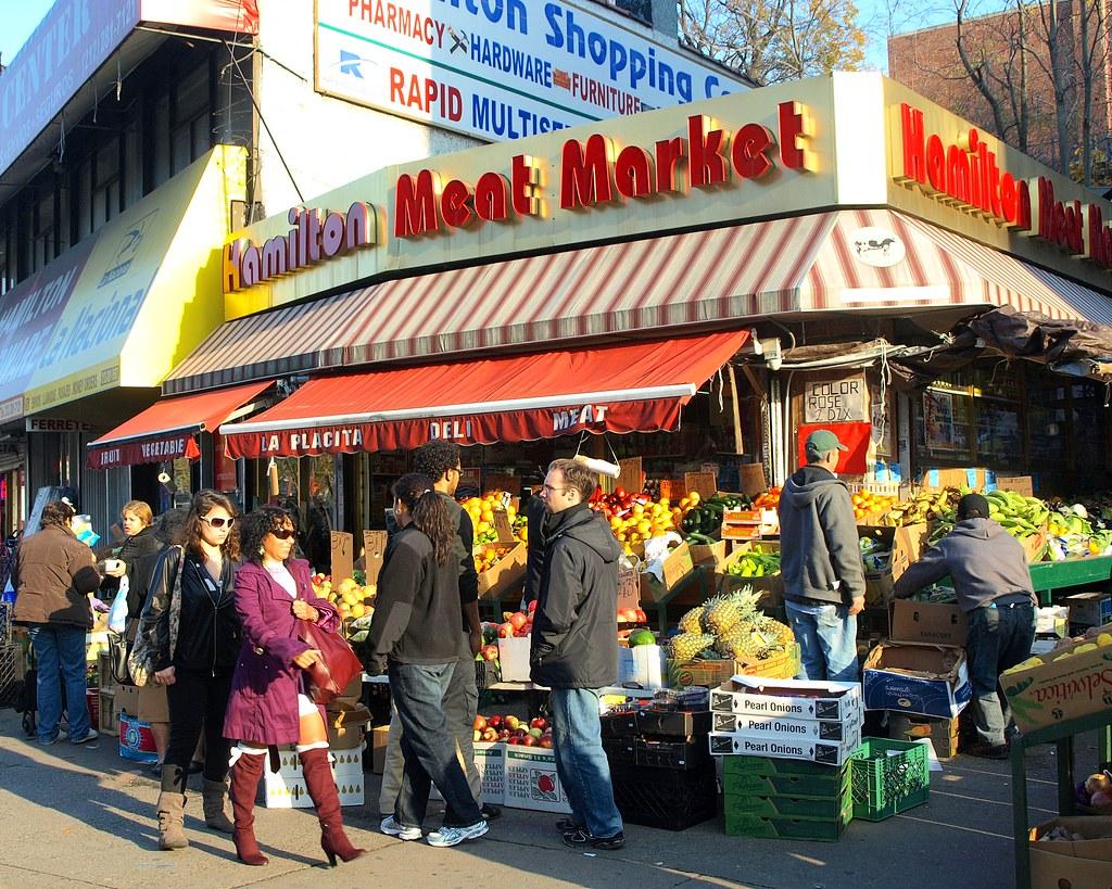 Hamilton Meat Market West Harlem New York City