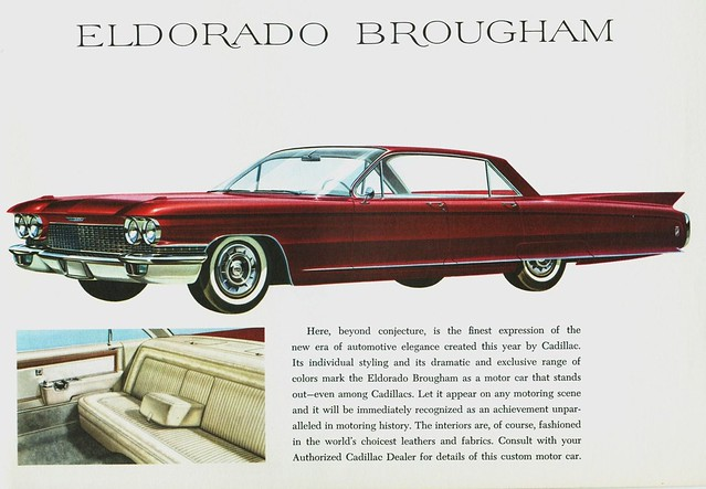 New Cadillac Eldorado >> 1960 Cadillac Eldorado Brougham | This was the last year for… | Flickr