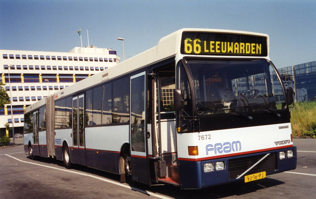 fram gelede bus 7672 leeuwarden fram bus at leeuwarden st flickr. Black Bedroom Furniture Sets. Home Design Ideas